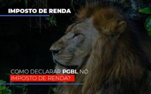 Ir2020:como Declarar Pgbl No Imposto De Renda Prime Cont - Escritório de Contabilidade em Caxias do Sul | Prime Cont