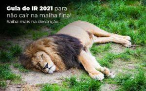 Guia Ir 2021 Para Nao Cair Na Malha Fina Saiba Mais Na Descricao Post (1) Quero Montar Uma Empresa - Escritório de Contabilidade em Caxias do Sul | Prime Cont